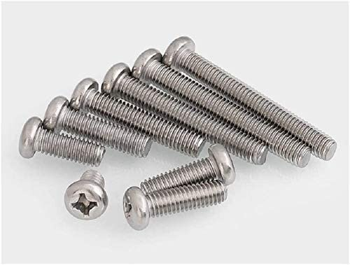 DEWUFAFA Screw Nail 304 Stainless Steel Head Scr Special 5% OFF price Round Phillips