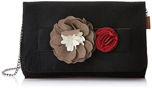 Mamatayoe AES, Bolso de mano para Mujer, Negro (Black), 6x20x30 cm (W x H x L)