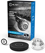 Blast Baseball Swing Analyzer | Instant Feedback | Track Progress | Capture Video | 3D Swing Tracer | App Enabled, iOS and Adroid Compatible (900-00040)