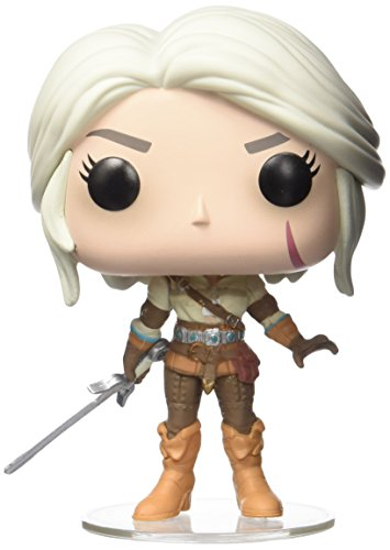 Funko 12133- Ciri figura de vinilo, colección de POP, seria The Witcher