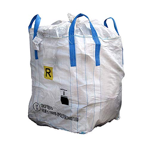 Big Bag Omologato 13H3 con liner. Saccone 90 x90 x h 120 cm....