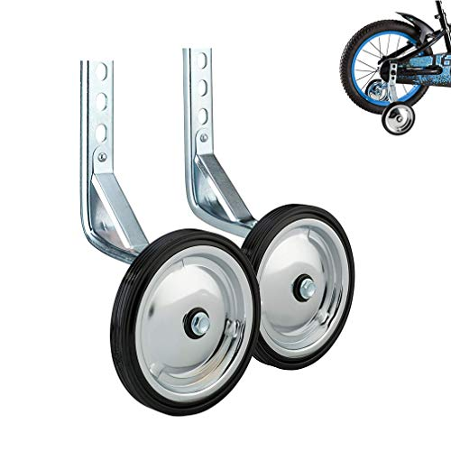 WAYDA Training Wheels, Heavy Duty Design Rear Bicycle Stabilizers Mounted Kit for Bikes of 14 16 18 inch -1 Pair Nevada
