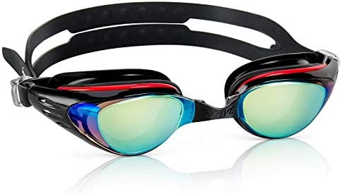 Shortsighted Swim Goggles Nearsighted Swimming Goggles No Leaking Anti Fog UV Protection Triathlon product image