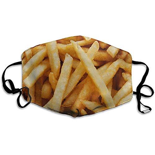 Mond Maskers, Multifunctionele Maskers Voedsel Frans Frietjes Dieet Cafe Energie Fastfood Fransfriet