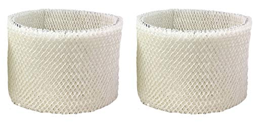 Air Filter Factory 2 Pack Compatible Replacement for Kenmore 15412 Humidifier Wick Filter