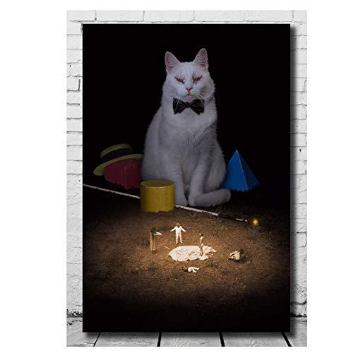 DNJKSA Koko-di Koko-da Cat Art Movie Poster Light Canvas Gift Wall Print -50x70cm No Frame