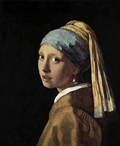 Berkin Arts Johannes Vermeer Giclée Leinwand Prints Gemälde Poster Reproduktion(Jan Vermeer Van Delft Mädchen mit Perlenohrring)