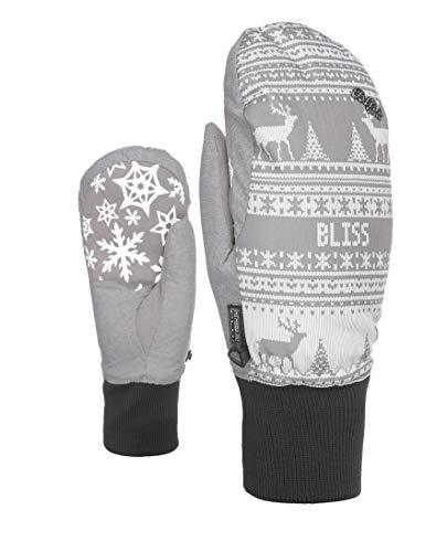 Level Damen Bliss Coral Mitt Handschuhe, Grey, 8