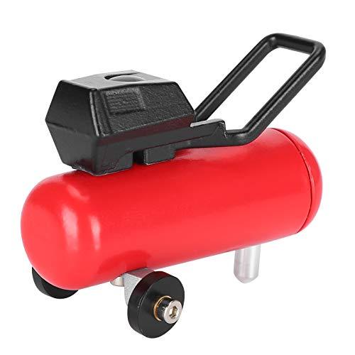 Praktische Firmensimulation Luftpumpe, RC-Luftpumpe, langlebiger Allzweck für RC-Car Professionelle Verwendung RC-Car-Modell(red)