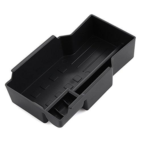 MENGGOO Cajas de Almacenamiento de la Caja de Almacenamiento de la Caja del apoyabraz de ABS de ABS de ABS para fit for Suzuki SX4 S-Cross Scross 2016 Auto Accesorios