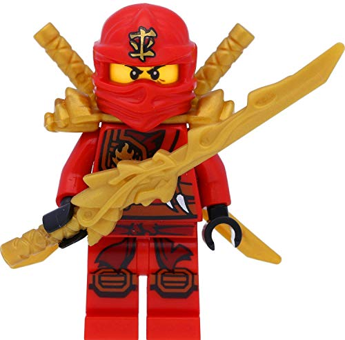 LEGO Ninjago - Figura de Kai con espadas (competición de los elementos)