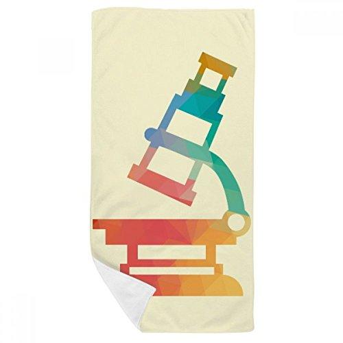 DIYthinker Microscopio de Dibujos Animados patrón de Química Toalla de baño Suave paño de Facecloth 35X70Cm