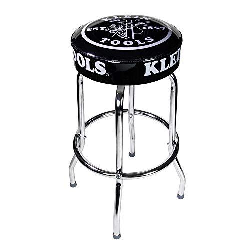 Klein Tools MBD00111 Black Swivel Seat Counter Stool