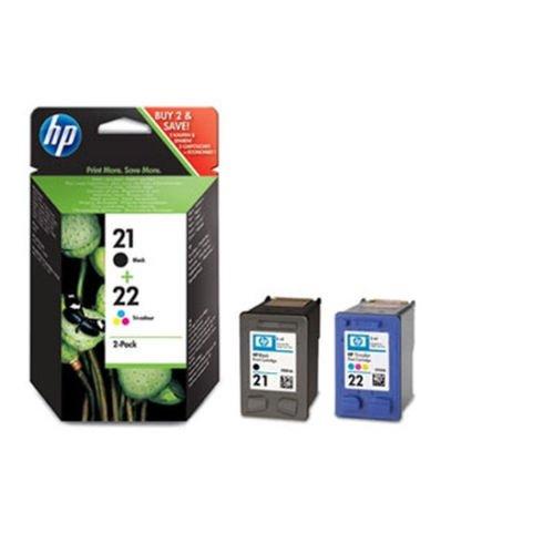 Pack 2cartuchos de tinta HP C9351A & C9352A 4colores