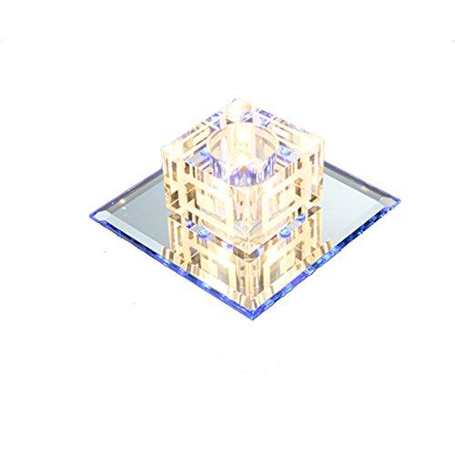 No Band Romantische plafondlamp, Rhombus LED, dubbel gebruik, warm, voor hal 410