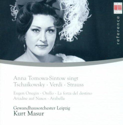 Anna Tomowa-Sintow, Gewandhausorchester Leipzig & Kurt Masur