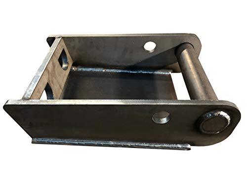 Rahmen MS08 Aufnahme mit Grund-Platte zum anschweißen/Schnellwechsel Adapter SW08 für Bagger/Lasergeschnitten/Made in Germany