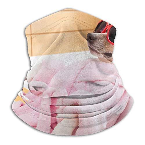 XZfly Badjas En Grappige Zonnebril Mode Fleece Nek Warmer Multi-functie Hoofdband Voor Mannen En Vrouwen Sport ma-sk
