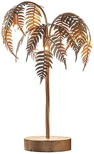 3 Luz de suelo Iluminación for el hogar decoración de interior lámparas de metal de la palmera de oro con acabado suave árbol de oro vivo de la bisutería con 180cm 914