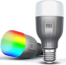 Xiaomi Mijia MI Smart LED Bulb Essential Colorful 950 Lumens 9W E27 Lamp Voice Control Work With Google Assistant Alexa (U...