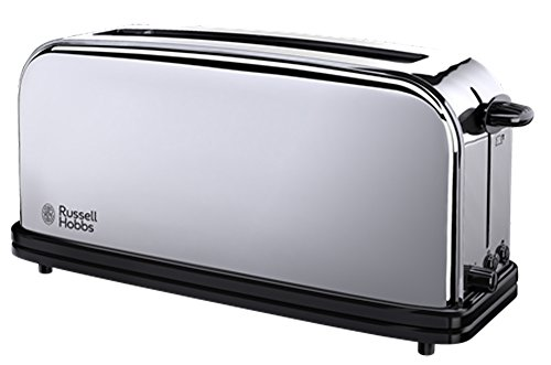 Russell Hobbs Toaster Grille Pain 1000W, 1 Longue Fente, Chauffe Viennoiserie - 23510-56 Victory