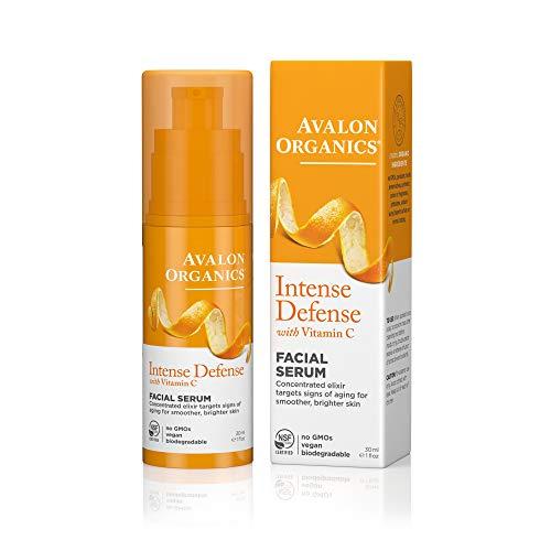 Avalon Organics Vitamin C Vitality Facial Serum , 30 ml Bottl