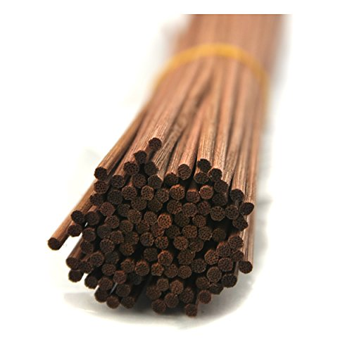 "100 Pieces Rattan Reed Diffuser Replacement Refill Sticks 12""(30cmx3mm, Brown)"