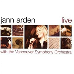 Live With the Vancouver Sympho by Jann Arden (2002) Audio CD