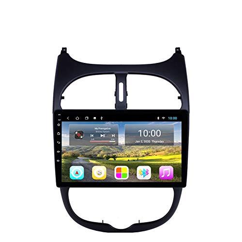 QWEAS Navegador GPS Estéreo para Coche Android Unidad Principal De Radio para Peugeot 206 Soporte Mirror Link/SWC/Bluetooth/USB/WiFi/Dab/AUX: Amazon.es: Deportes y aire libre