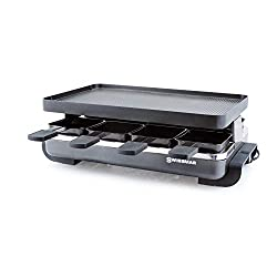 Honorable Mention for Best Raclette Grill: Swissmar Classic 8-Person Anthracite Raclette Grill