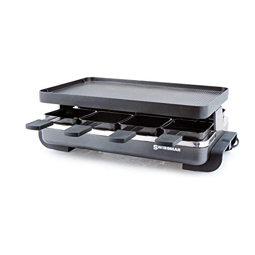 Find Cheap Swissmar Classic 8 Person Anthracite Raclette with Cast Aluminum Grill Plate
