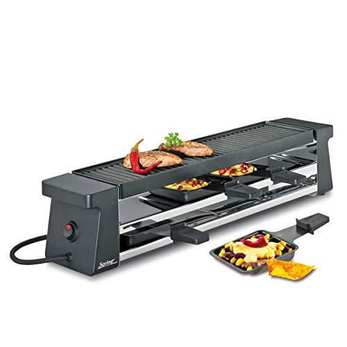 Raclette4 Compact - zwart Spring 3039007001 Raclette4 Compact