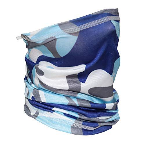 AUTPRO Multifunktionaler Halsschal für Kinder Tubu-Schal mit verstellbarem Seil,Mundschutz Schlauchtuch Radfahren Sport Motorrad Halstuch Biker Tuch Bandana Kopftuch