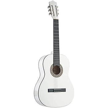 Stagg C542 WH - Guitarra clásica (tamaño 4/4), color blanco ...