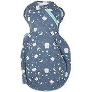The Gro Company Ollie The Owl Grosnug 2-in-1 Pucksack und Grobag für Neugeborene, 0-3 Monate, leicht