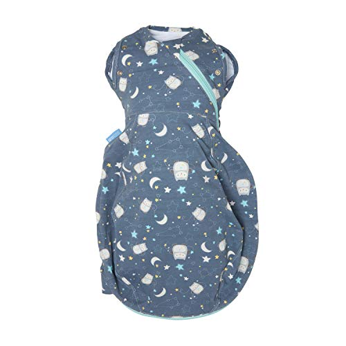 The Gro Company Ollie The Owl Grosnug 2-in-1 Swaddle and Newborn Grobag, 0-3 Months, Cosy