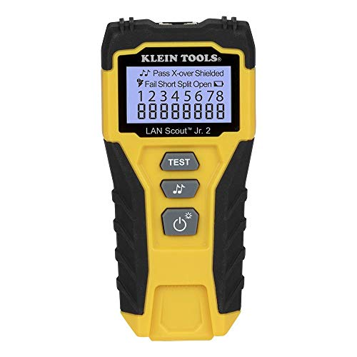 Cable Tester, LAN Scout Jr. 2 Ethernet Cable Tester for CAT...