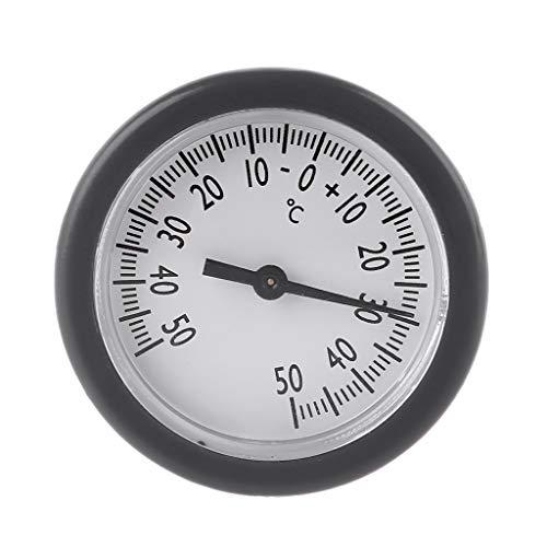 RYOR Taschenthermometer, eingebetteter Mini-Temperaturmesser für die Aufbewahrung von Monitor, genaue und klare Messung.