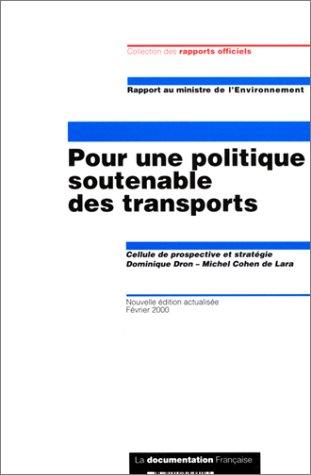bon comparatif Politique de transport durable, édition 2000 un avis de 2021