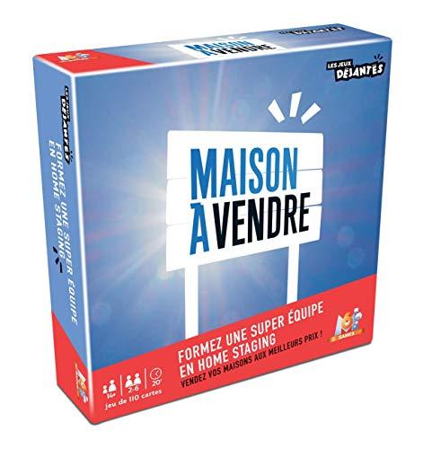 Les jeux Déjantés- Maison à Vendre, Collection M6 Games, 130008027, Bleu