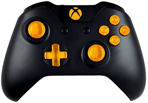 5000+ Modded Controller for Microsoft Xbox One - Works on All Shooter Games - Multiple Colors Available (Gold Out)