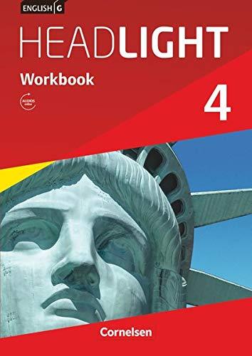 English G Headlight - Allgemeine Ausgabe / Band 4: 8. Schuljahr - Workbook mit Audios online