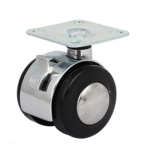 New Lon0167 2' 'Rueda Destacados de diámetro 65 eficacia confiable mm de altura Placa superior giratoria Freno giratorio Rueda(id:feb 33 30 8d4)