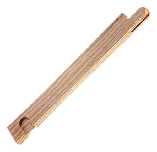 Lienzos Levante 2 Listones de 65 cm de Largo con sección de 46 x 17 para Montar 2 Lados de un Bastidor para lienzos, Soporte pictórico, Pino, 65