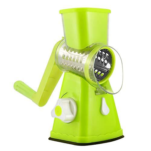 Preisvergleich Produktbild ERWEF Rotierende Handkurbel Gemüse Shredder,  leicht zu lagern,  langlebig,  einfach und schnell,  Startseite Küchenhelfer