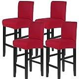 papasgix Funda para silla elástica con respaldo, lavable, extraíble,...