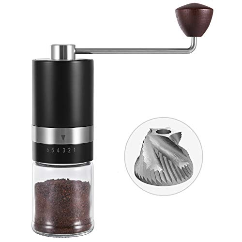 VEVOK CHEF Manual Burr Coffee Grinder