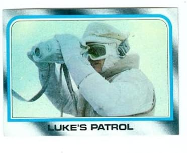 Star Wars Empire Strikes Back trading #148 card Topps 1980 Trust Courier shipping free Hoth