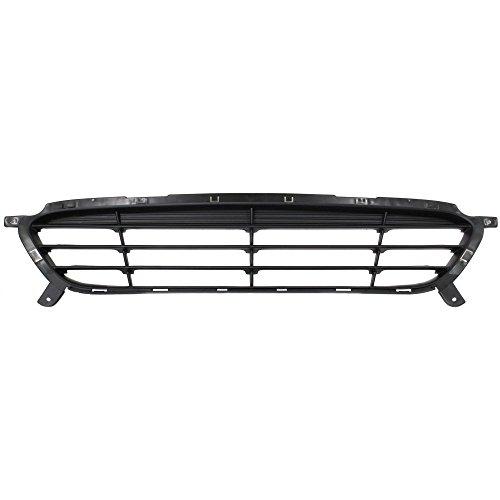 Bumper Grille 2012-2014 compatible with Hyundai Hyundai Accent Black 2-Door...