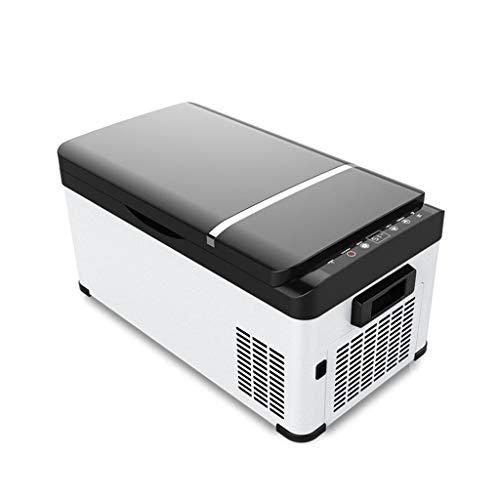 Mini Nevera Electric Cool Box, Compresor De Automóvil Portátil, Congelador, Refrigerador For Automóvil, Capacidad 20L, 12V 220V, Uso Dual For Automóvil/Hogar, For Automóvil/Barco/Autoconducción